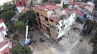 Concluye Sobse demolición del inmueble de Concepción Béistegui 1503