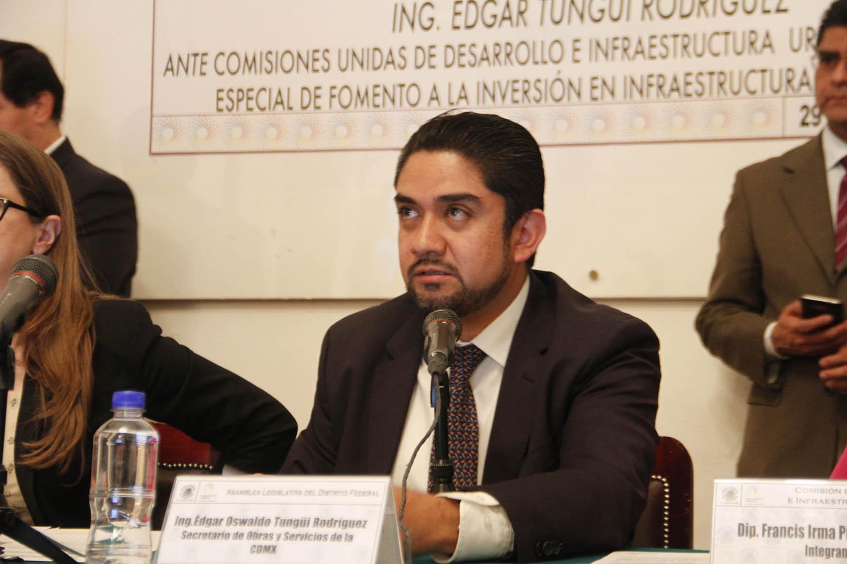 COMPARECENCIA SECRETARIO DE OBRAS Y SERVICIOS EN LA ALDF 08.JPG