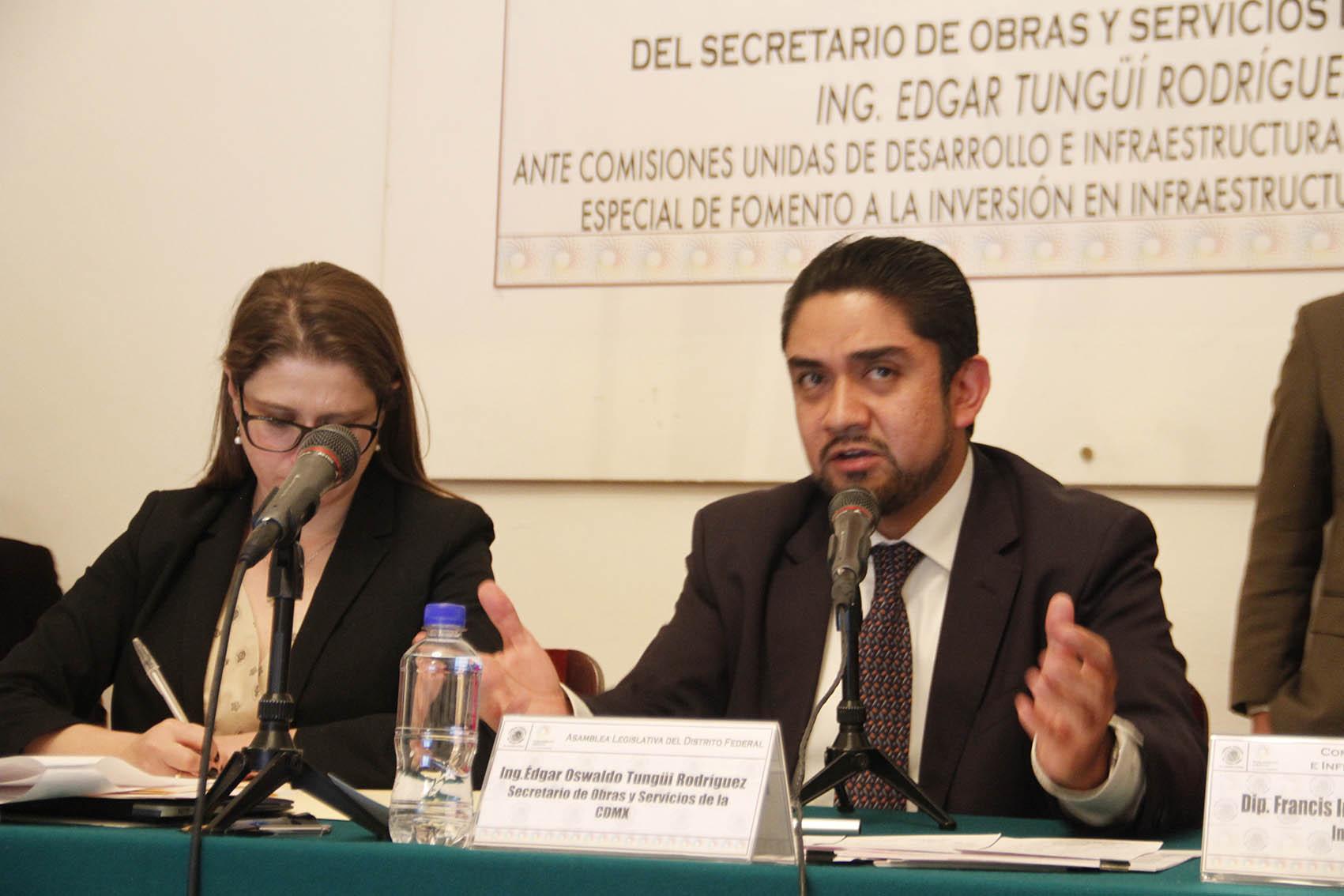 COMPARECENCIA SECRETARIO DE OBRAS Y SERVICIOS EN LA ALDF 10.JPG