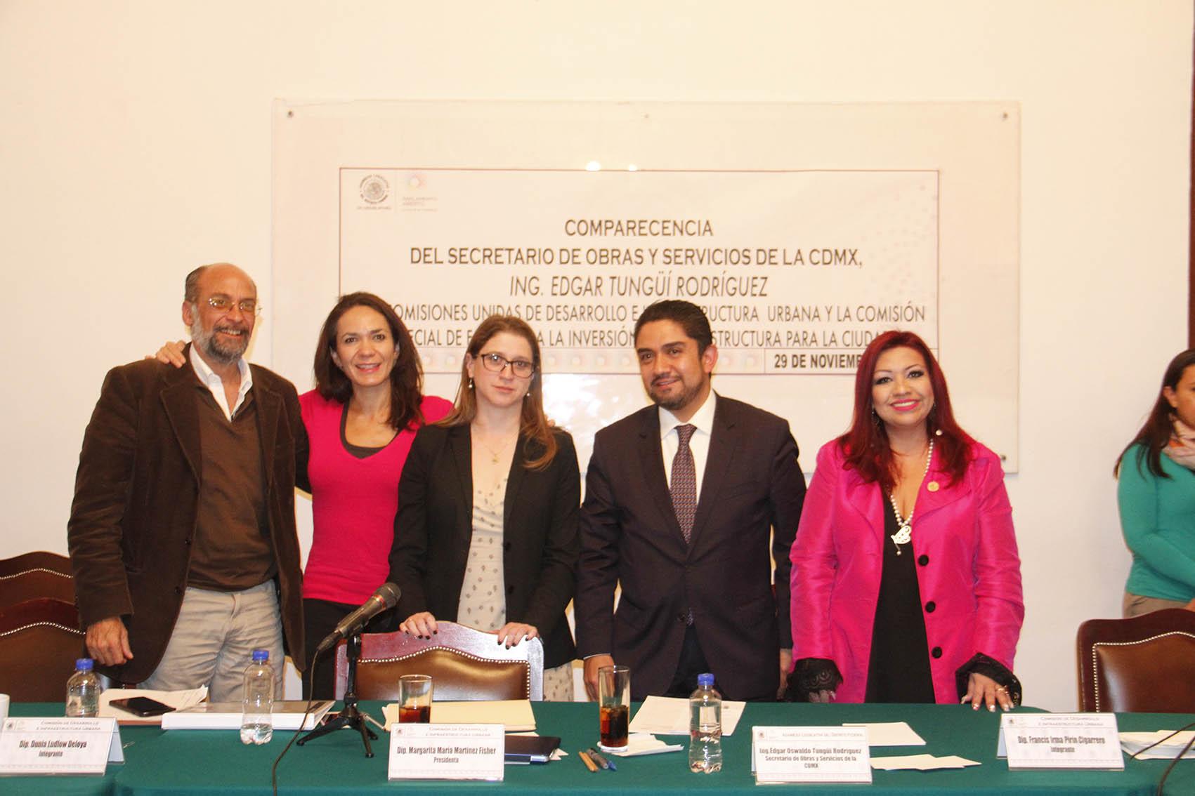 COMPARECENCIA SECRETARIO DE OBRAS Y SERVICIOS EN LA ALDF 11.JPG