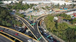 Inaugura Gobierno de la Ciudad de México Adecuación en Puente Vehicular en Circuito Interior y Eje 6 Sur
