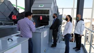 Supervisa Jefa de Gobierno Construcción de Planta de Selección de Residuos Sólidos en Azcapotzalco