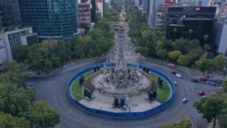 Registra Gobierno Capitalino 88% de Avance en Rehabilitación de la Columna del Ángel de la Independencia